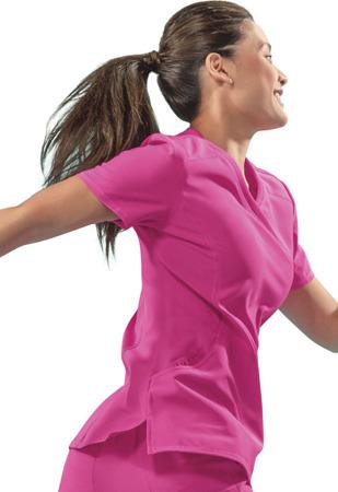 Antybakteryjna damska bluza medyczna  różowa Cherokee Infinity 2625A