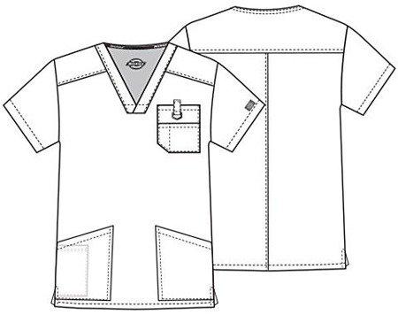 Błękitna bluza medyczna Dickies 81906
