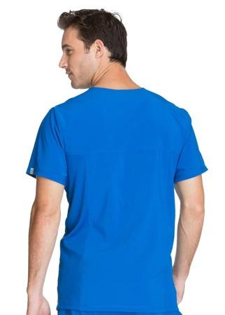 Bluza medyczna męska szafirowa