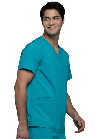 Bluza medyczna męska zielona