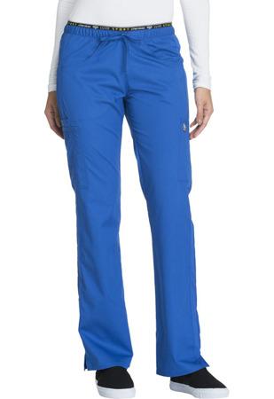 Niebieskie spodnie medyczne Cherokee Luxe CK003